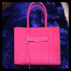 Rebecca Minkoff Saffiano Leather MAB Tote, Magenta